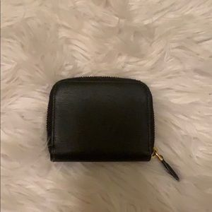 Prada Bags - Small black Prada wallet.